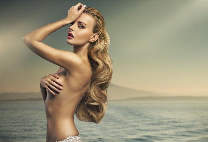 Model Frau