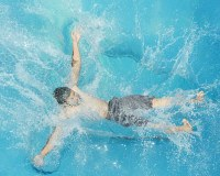 Sommerbad genießen