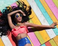 Neue Kollektion: Beach Time präsentiert 2014 farbenfrohe Bademode