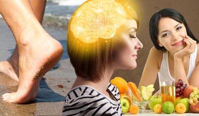 Rundumschlag: Barfuß, Brainfood und B-Vitamine