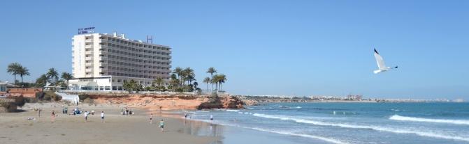 Blick auf die Costa Blanca