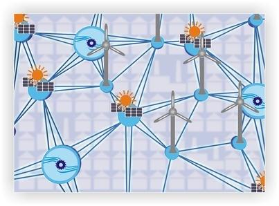 Digitaler Netzplan