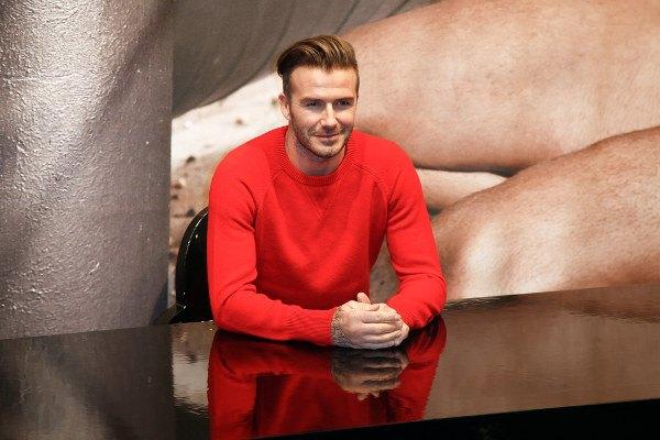 """Becks"" dreht TV-Sport für H&M"