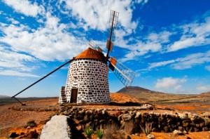 Traditional windmill Fuerteventura