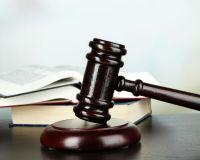 Gerichtshammer beendet Prozess