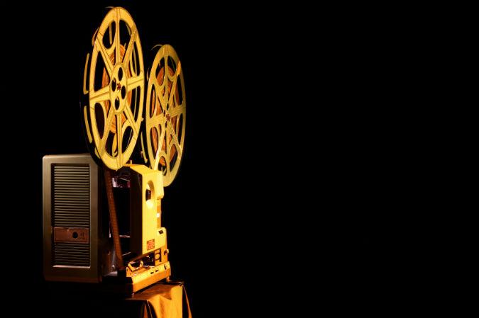 Goldener Projektor