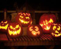 Kürbisse als Halloween Deko Idee