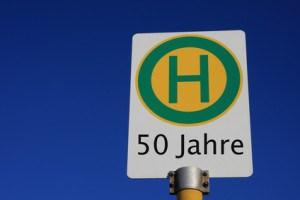 Das ideale Geschenk für den 50. Geburtstag eines Busfahrers