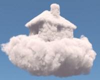 Traumhaus aus Wolken