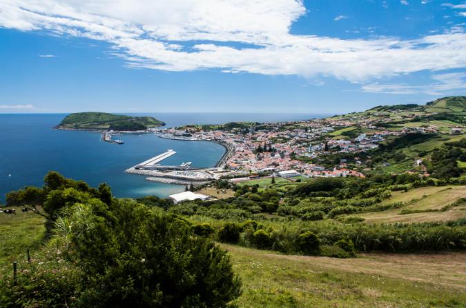 Horta auf den Azoren