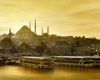 Istanbul, die Hauptstadt der Türkei