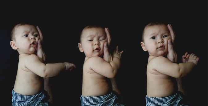Drei Babys
