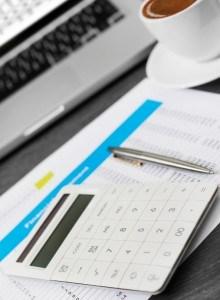 Taschenrechner zur Auswahl vom Kredit