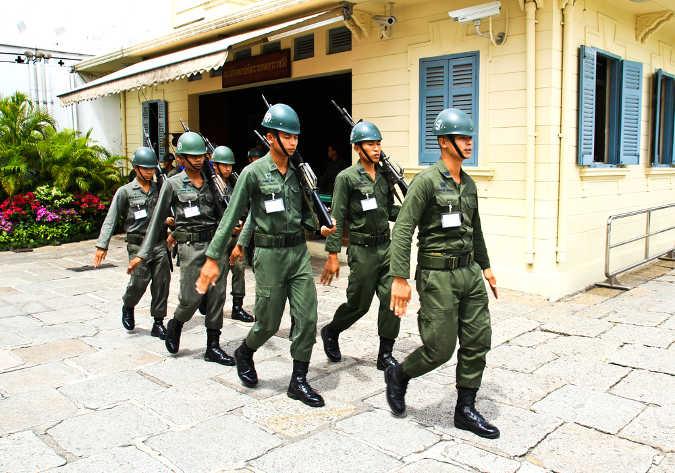Thailändische Soldaten