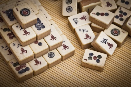 Mah Jongg Brettspiel