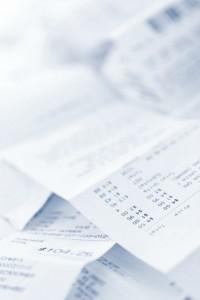 Unbezahlte Rechnungen von Konsumschulden