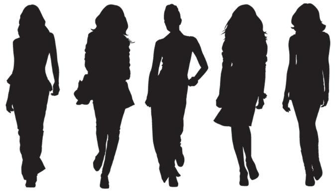 Schatten von Models