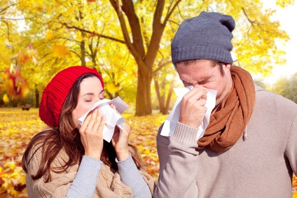 Schnupfen - Grippezeit