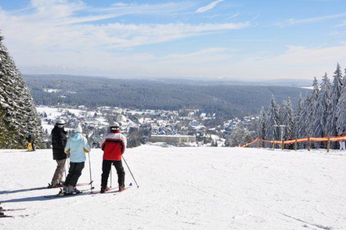 In allen Teilen Deutschlands können sich Wintersportler austoben