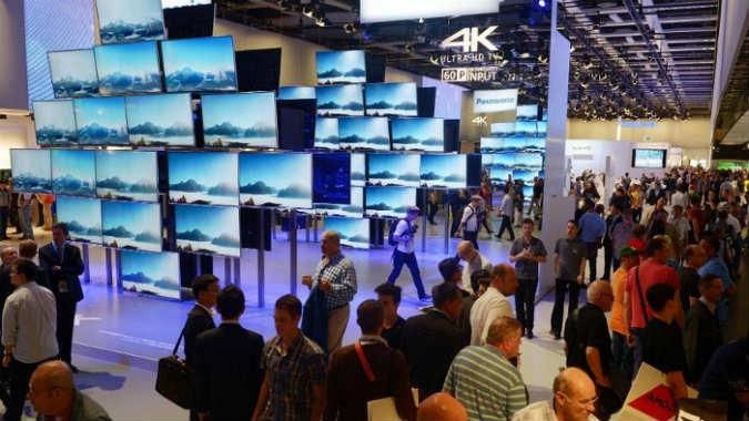 Technikmesse - Fernseher