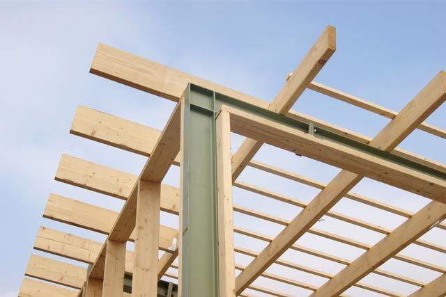 anleitung: terrassenüberdachungen aus holz selber bauen, Hause deko