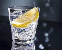 Glas mit Wodka