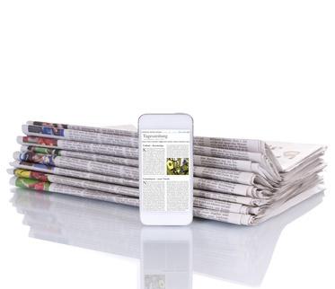 Die Zeitungswelt befindet sich auch heute weiterhin im Wandel