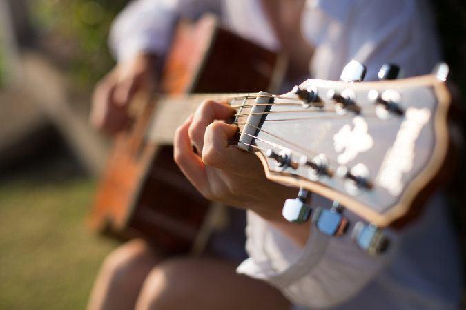 Accoustik Gitarre