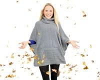 Cool & Sexy: Sweatshirt mit Fledermausärmeln ist der Herbstmodetrend 2013!