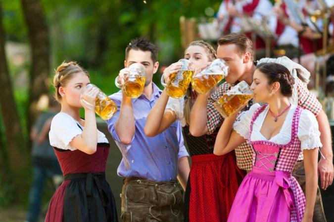 Volksfest Umgebung