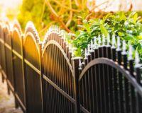 Zaun im Garten