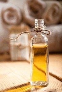 Flasche mit Öl