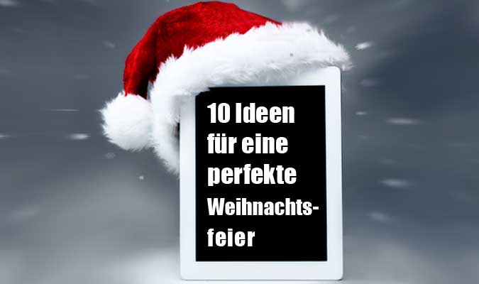 ideen f r weihnachtsfeier my blog. Black Bedroom Furniture Sets. Home Design Ideas