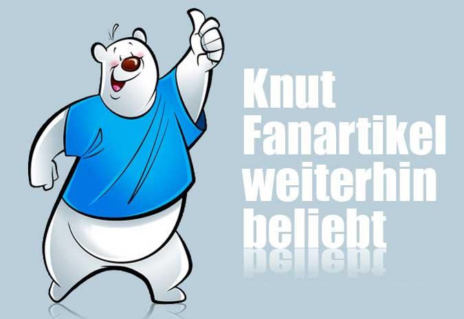 Eisbär Knut Fanartikel weiterhin beliebt