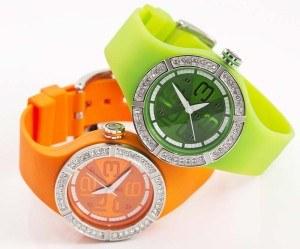 Lifestyle Uhre in knalligen Farben