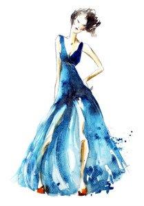 Mode Zeichnungen selbst gemacht!
