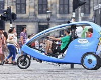 Ideen zum Vatertag: Mit der Rikscha durch Hamburg!