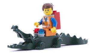 Lego Oulet Krokodil