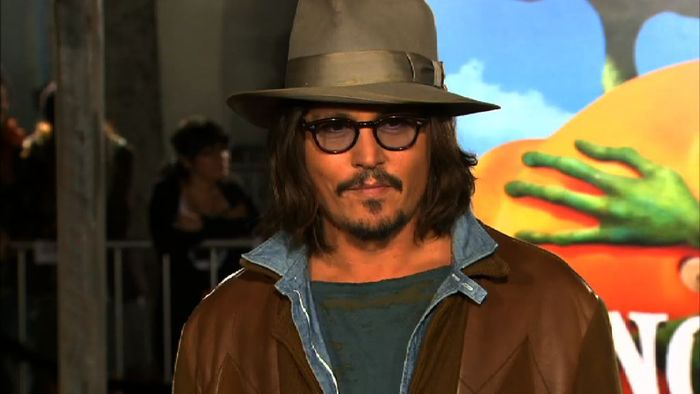 Johnny Depp als beliebtester Schauspieler 2014